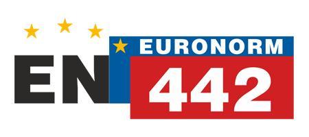 Hergestellt nach EURONORM EN 442